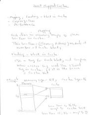 MECH 435 Direct Mapped Cache Notes
