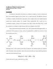 Metal Complexes of Dimethyl Sulfoxide