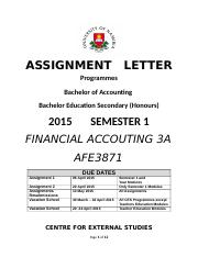 AFE3871_2015_Assignments___AFE3871_Financial_Accounting_3A.docx