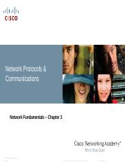 Chapter 3 Network Protocols & Communications