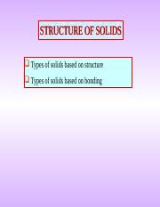Structure Of Solids- Metallic.ppt