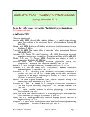 BIOS5970-Pl-Herb-References.doc