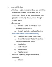 Ideology Basic Terms