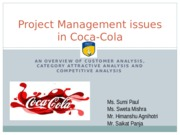 Project Management issues in Coca-Cola.pptx