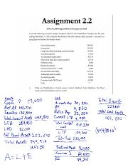 Income and Balance Sheet Assignment.pdf