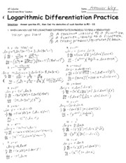 Logarithmic_Differentiation_Practice_ANSWER_KEY