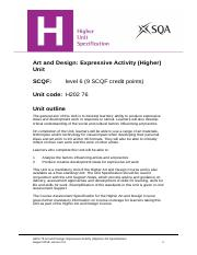 CfE_Unit_H_ArtandDesign_ExpressiveActivity