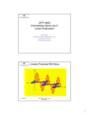 OPTI 380A Lab 5 - Linear Polarization - Presentation Slides-3