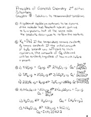 Silberberg Chapter 17 Solutions to recommended problems