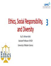 3- Ethical Decision Making