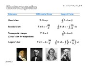 Magnetostatics Slides Featuring Student Notes