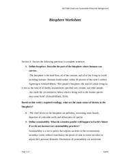 MGT 360 Week 1 Individual Assignment Biosphere Worksheet.docx