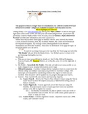 Virtual Resources Scavenger Hunt Activity Sheet 4-2-2013