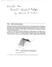 Compressive Plate Buckling Notes