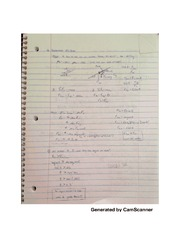 Mass equation notes
