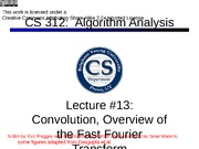 Lecture13-fft