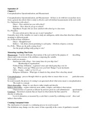 SOCL 2211 Exam Two Notes Continued