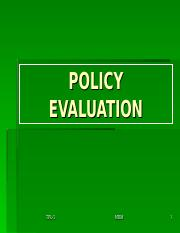 TPOL-6-EVALUATING OF POLICY.ppt