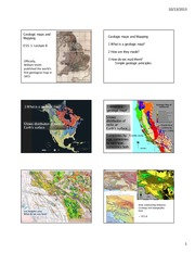 8 Geologic Maps and Mapping