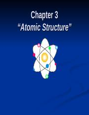ch. 3 atomic structure.ppt