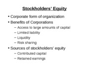 Mgmt_200_Spring_2008_Chap_11_Stockholders'_Equity(3,25)