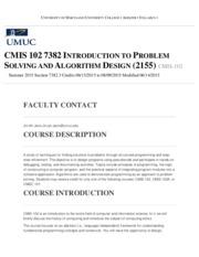cmis 102 syllabus
