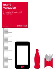 Interbrand Valuation