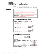 g x 0 lesson 73 algebra 2 notetaking guide 159 let f x 3 x 12 and rh coursehero com