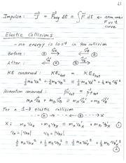 phys100~elastic collisions