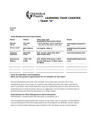 Wk 2 - Learning Team Charter2017
