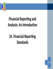 Reading+24+Financial Reporting Standards