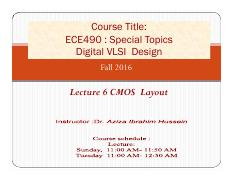 Lecture 7-8 CMOS  Layout_final
