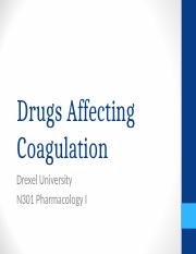 N301 week 9 Coagulation.ppt