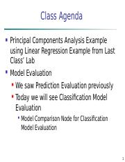 Lecture 5 - PCA and Model Evaluation.ppt