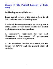 Chapter 9-Political Economy of Trade.doc
