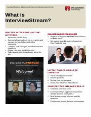 Careers - What is InterviewStream.pdf