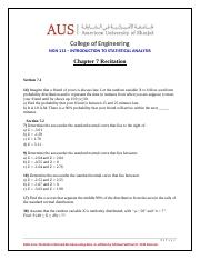 NGN111-  PROBLEM STATEMENTS Recitation 7 - Chapter 7