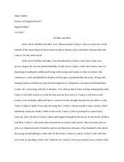 Formulating thesis