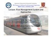 Lecture 12 - Risk Management System & Approaches (Rev 0)