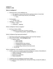 psych - test three notes