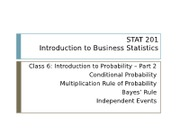 06 Introduction to Probability Part 2-1