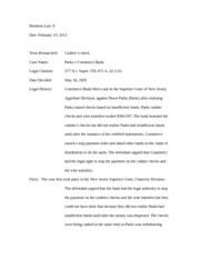Business Law 2 Brief