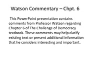 Watson_Chpt6_comments