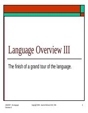 Lect 8 - Language Overview III.ppt