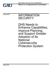 DHS-Information-Security