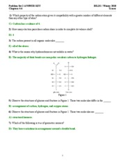 Problem Set 2 ANSWER KEY 2010