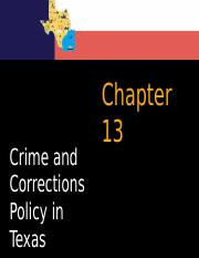 Chapter 13 Crime and Corrections Policy ( students Fall 2015).pptx