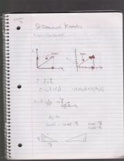 Chapter 3 Two Dimensional Kinematics