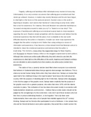 Womens writers Essay #1