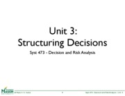 Syst473%20Unit%203%20-%20Structuring%20Decisions